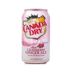 Canada Dry – Cranberry Ginger Ale Diet 0,355 л