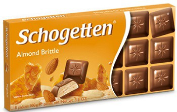 Schogetten Almond Cream Filled 100 гр