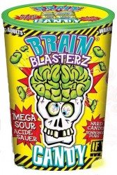 Кислые Леденцы Brain Blasterz Yellow 48 гр