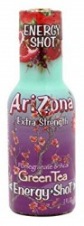 AriZona Energy Shots Green Tea Pomegranate 200 мл