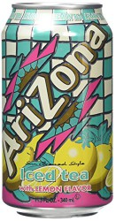 AriZona Lemon Flavor 340 мл