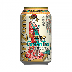 AriZona Green tea Zero Ginseng 340 мл