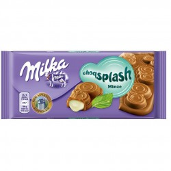 Шоколад Milka Splash Mint 90 гр