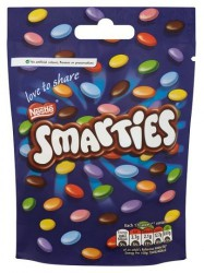 Nestle Smarties Share 125 гр