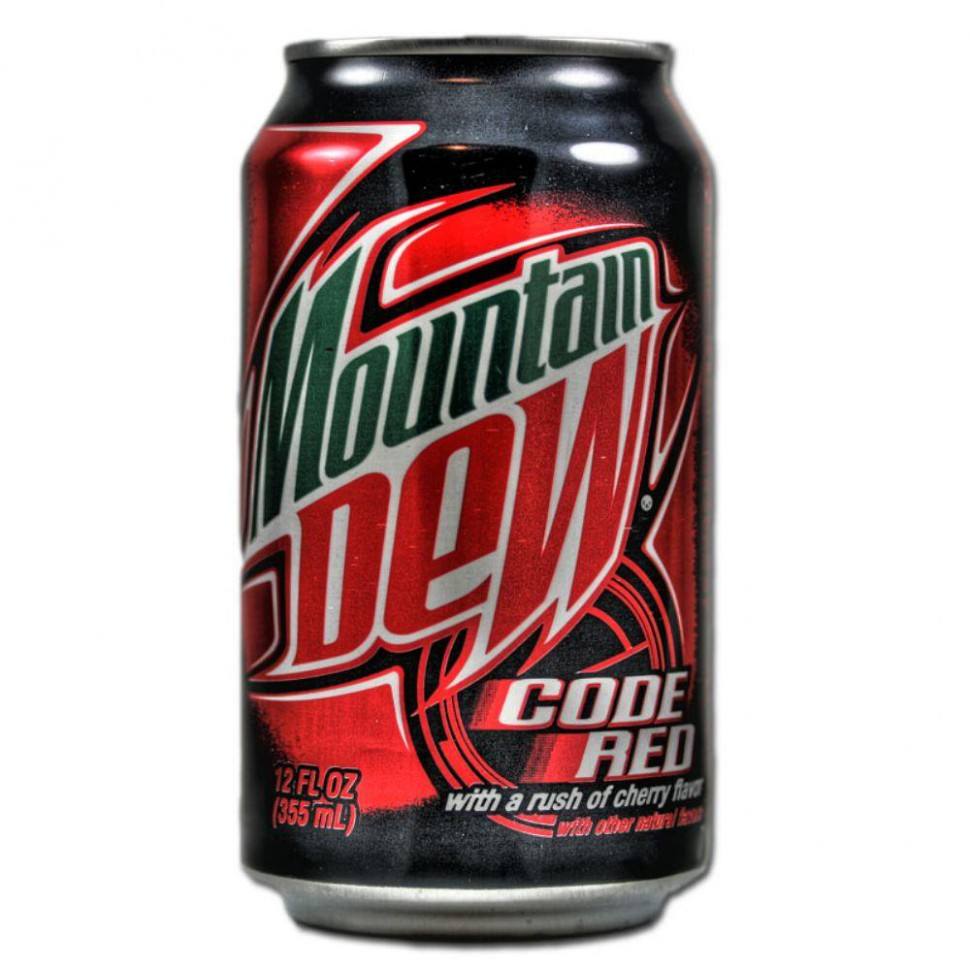 Mountain Dew – Code Red 0,355 л