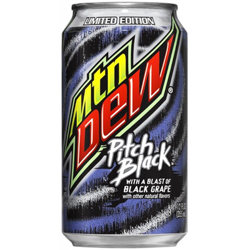 Mountain Dew – Pitch Black 0,355 л