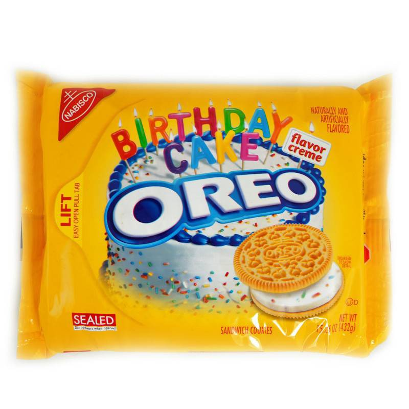 Oreo Golden Birthday Cake 30шт 432 гр